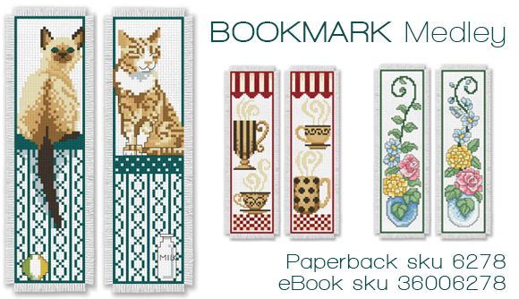 bookmarks with cats