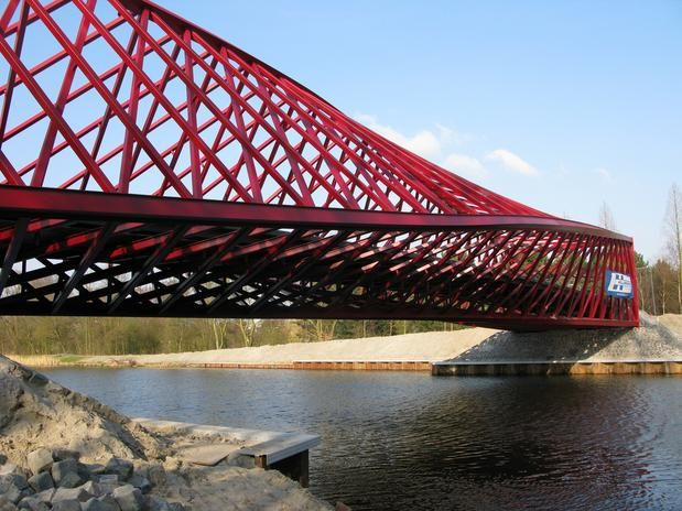 As Pontes Mais Esquisitas Do Mundo 12 Ponte Retorcida Holanda