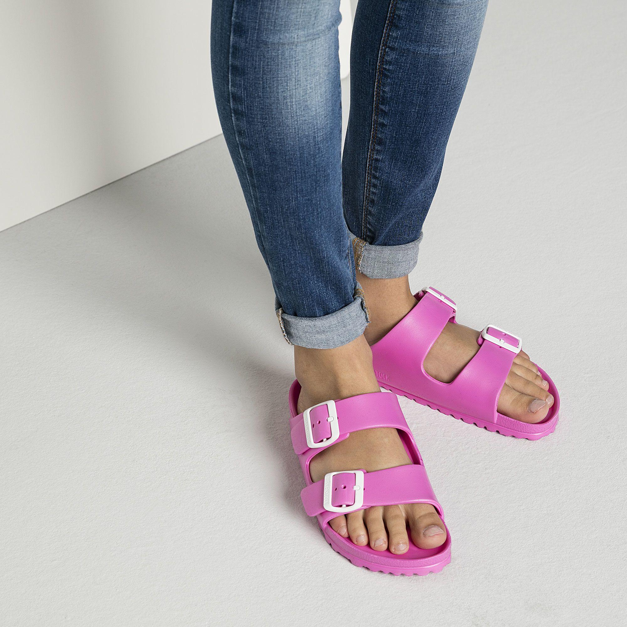 03baff9429c Arizona EVA Neon Pink - Water Friendly Birkenstock Sandals