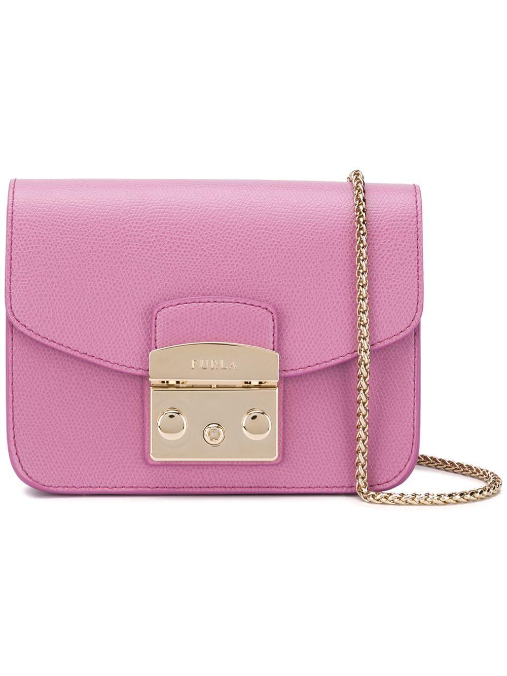 ca4df5ae8 Furla small Metropolis bag - Pink in 2019   Products   Furla, Bags ...