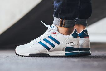 new product abc21 0cfe8 adidas ZX 750 (White/Blue/Red) | Outfit grid in 2019 ...