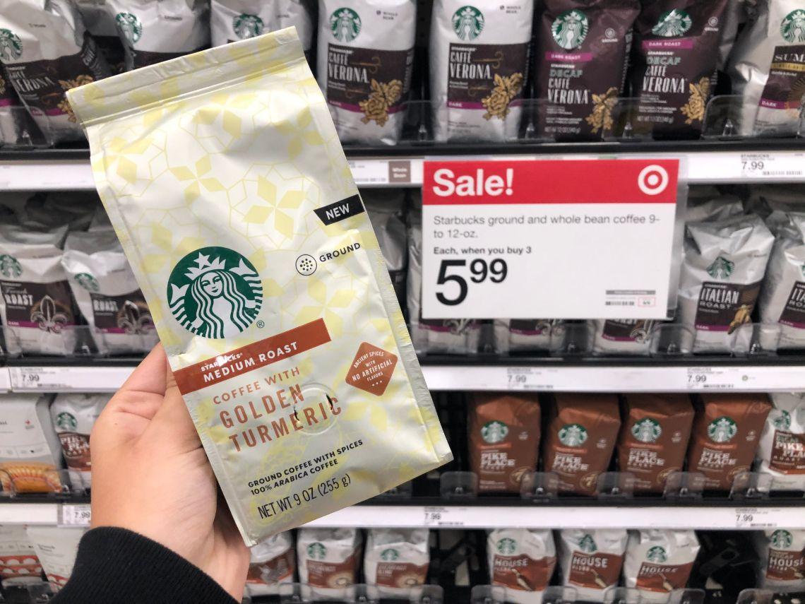 Starbucks Coffee Bags & KCups, as Low as 1.99 at Target