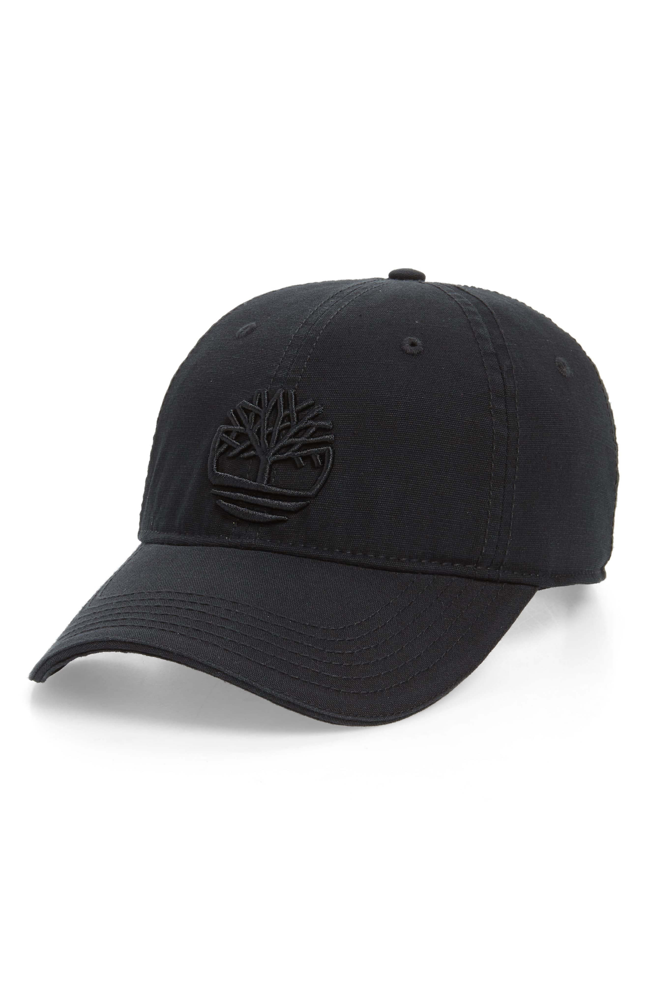 buy online 0d428 3b265 Men s Timberland Soundview Baseball Cap - Black