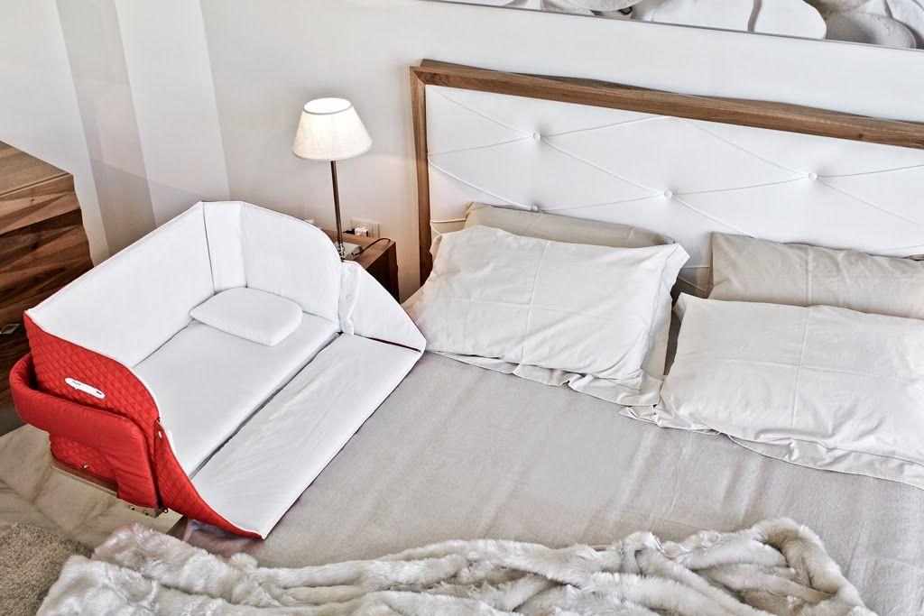 Italian Culla Baby crib, bedside crib, bedside cot, baby ...