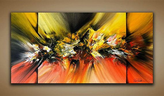 Abstract Painting Wall Art Contemporary Modern