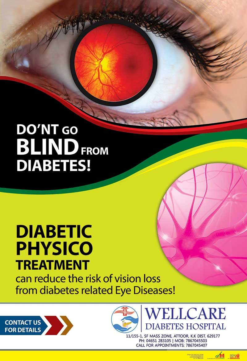 Don't go blind from diabetes How to prevent eye diseases