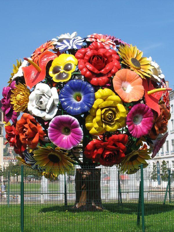 l arbre fleurs flower tree jeong hwa choi place antonin poncet lyon france was mir. Black Bedroom Furniture Sets. Home Design Ideas