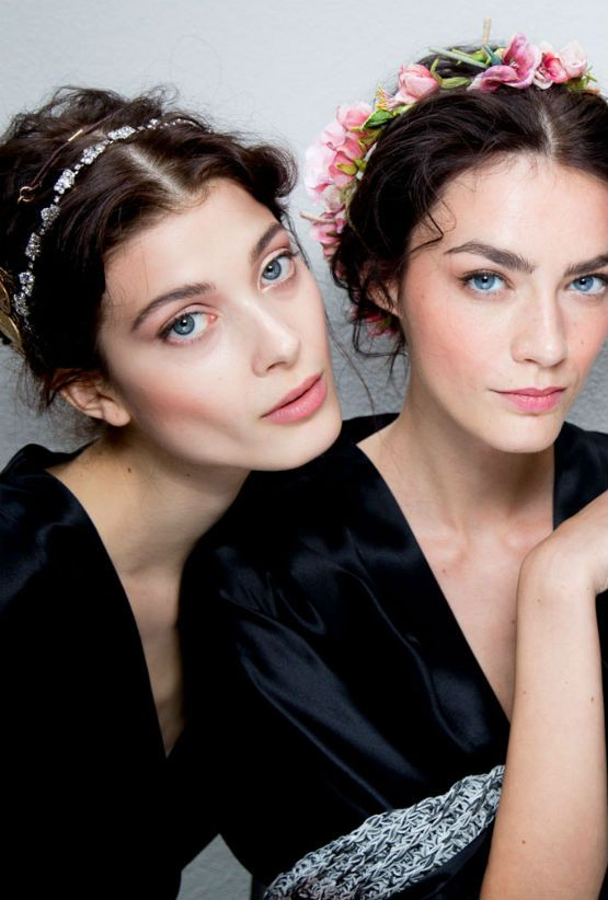 backstage at dolce and gabbana s/s 2014, photographed by kevin tachman
