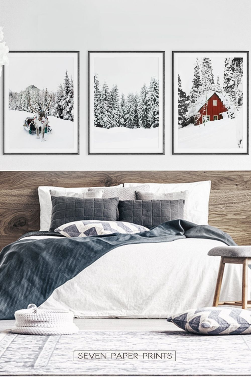 Christmas Decoration Gallery Set Of 3 Piece Wall Art Unique Wall Art Gallery Wall Art Prints Home Decor Wall Art