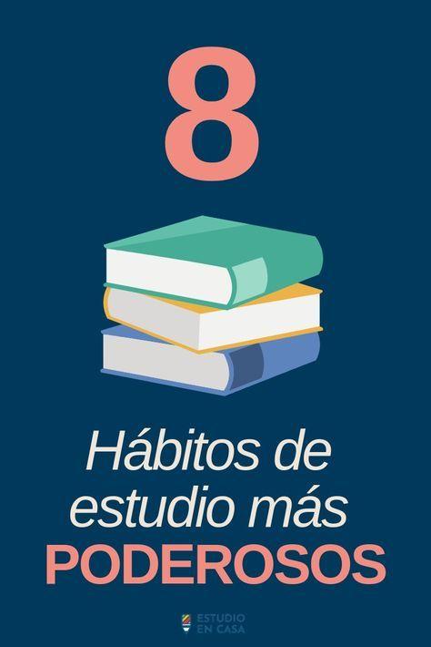 Habitos De Estudio Para Estudiantes Universitarios Tips Y Consejos Para Estudiantes Sobre Productividad Apunte School Study Tips Study Tips Study Techniques