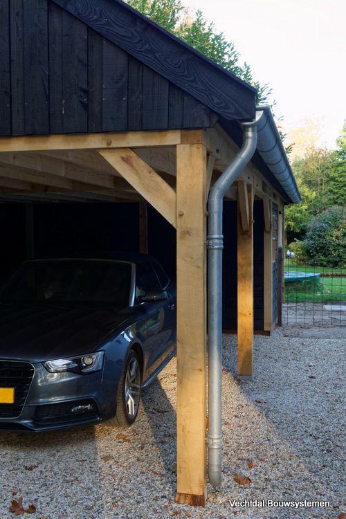 Landelijke schuur met carport. Vechtdal Bouwsystemen BV | Landelijke ...