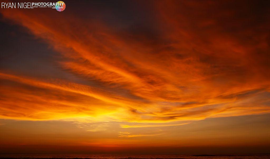 Sunset 'Sky on Fire'
