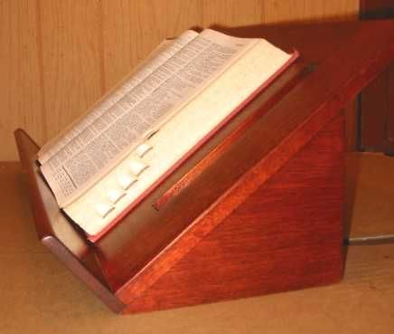 Thanks To The Marshall Miller Family For Inspiring Me To Have A Dictionary Displayed And Easily Accessible In Wooden Book Stand Wood Book Stand Wooden Books