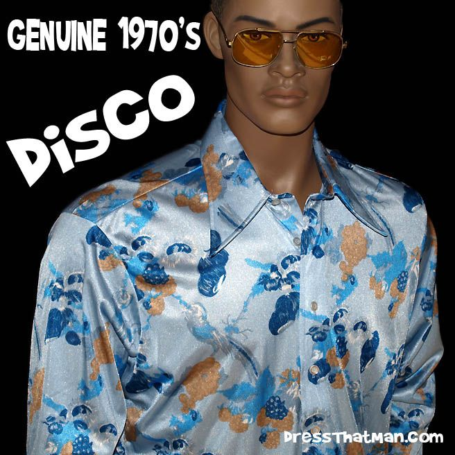 bbde199b mens big collar 70s shirts | Mens disco outfits / costumes | Shirts ...