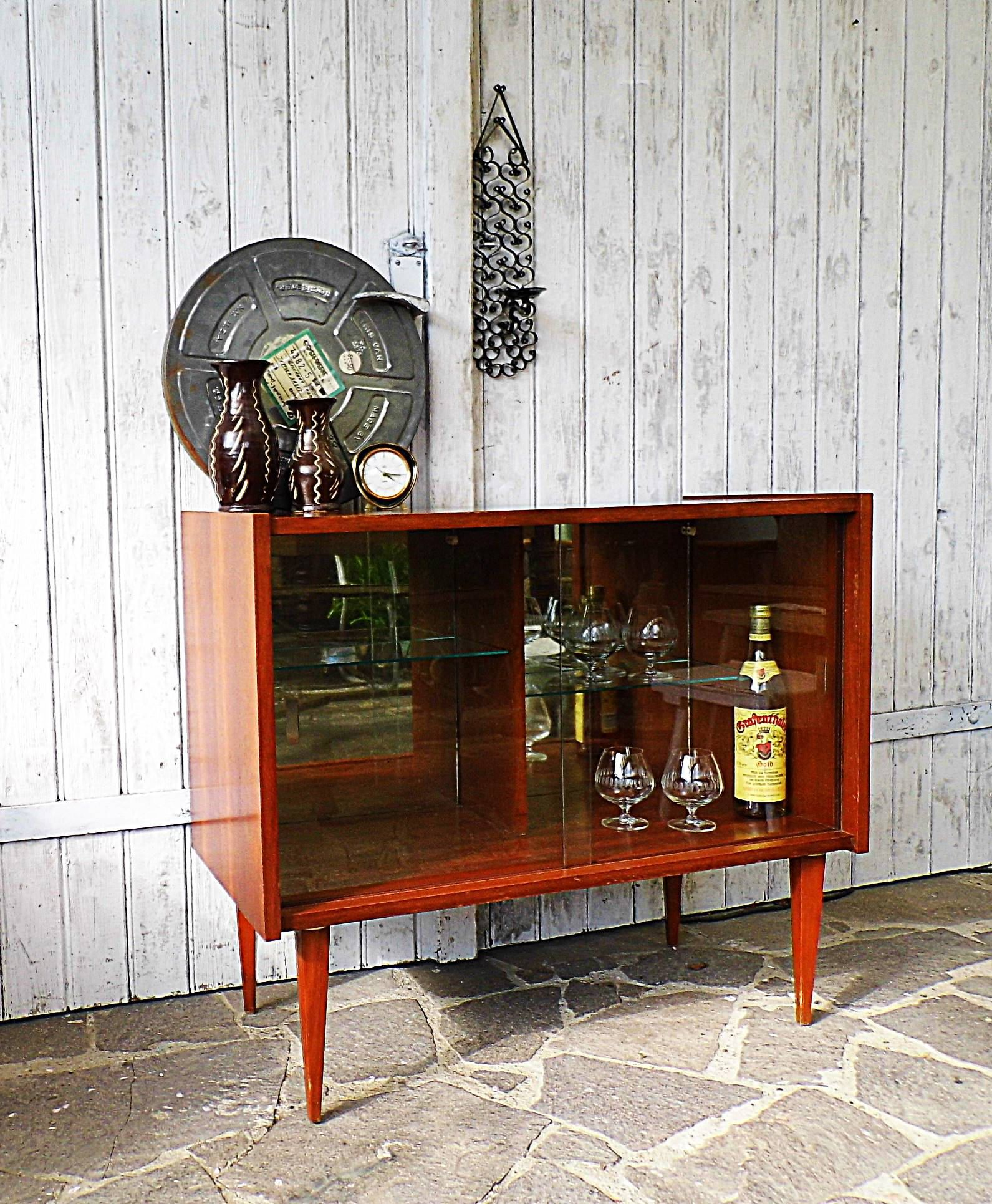 commode - home bar - sideboard - bar cabinet - Mid century | Bar ...