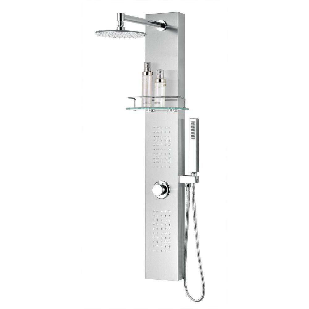 Anzzi Coastal Series 44 In Full Body Shower Panel System With