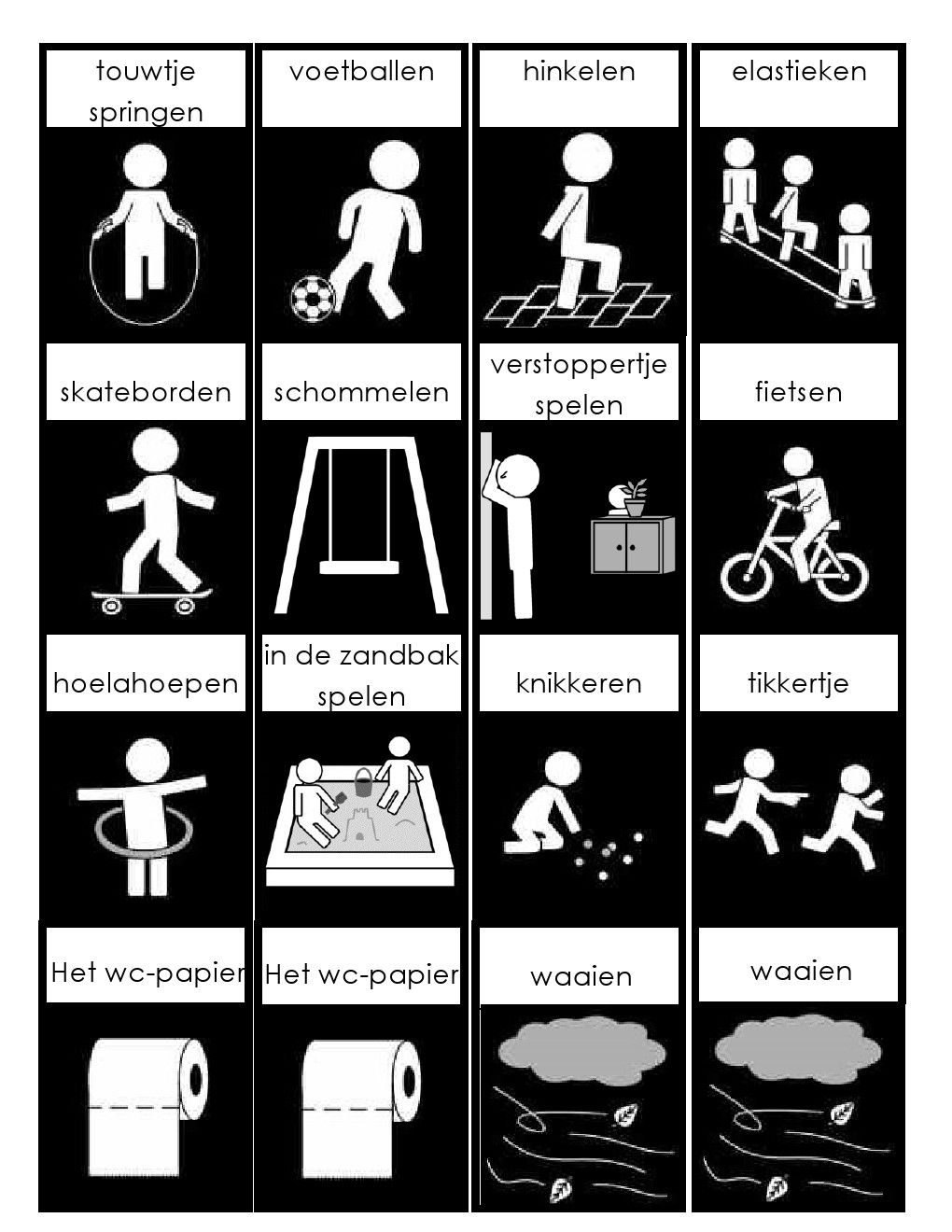 Zeer School Pictogrammen Autisme - ARCHIDEV @SZ02