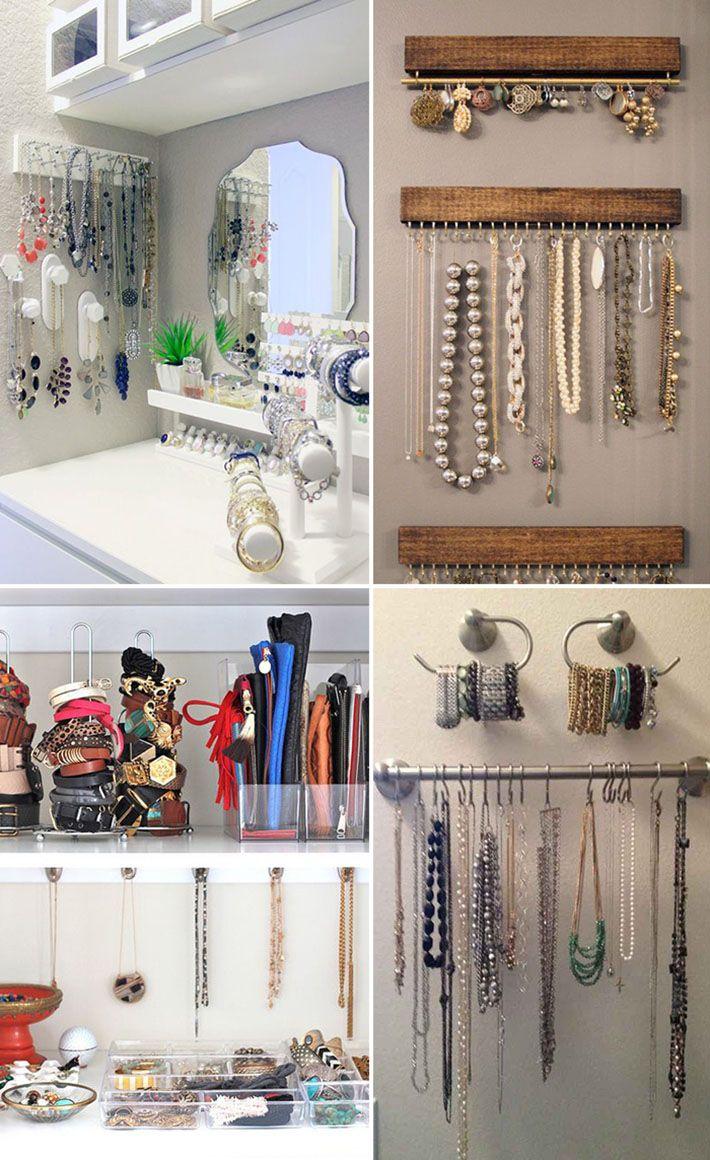 fcd3998b3 Organização de acessórios: bolsas, cintos, óculos, colares e muito mais!
