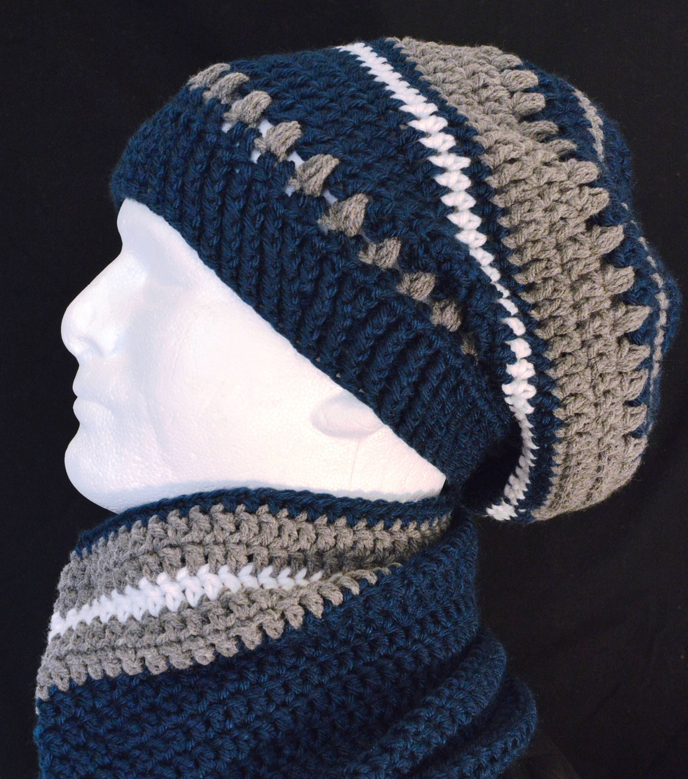 NFL Inspired Dallas Cowboys Slouch Hat Set https://etsy.me ...