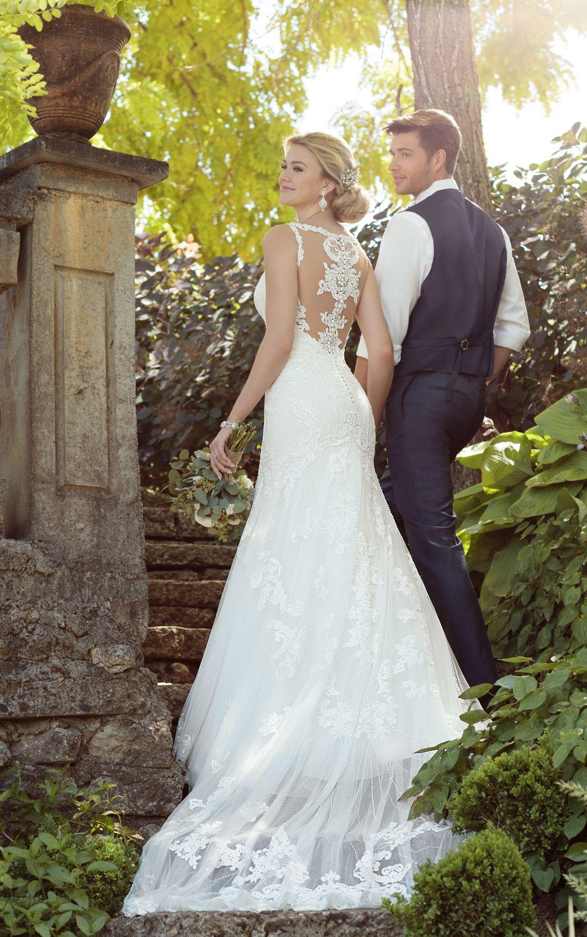 Perlenbesticktes Vintage Boho-Brautkleid   Sei einzigartig, Der ...