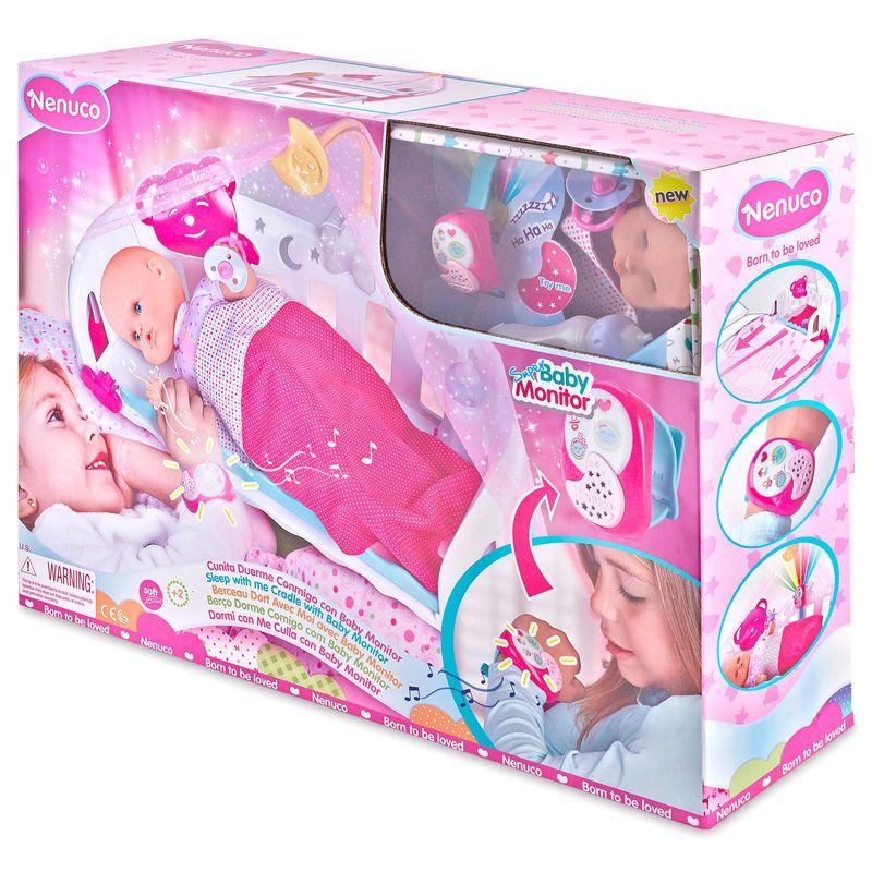 Muneco Nenuco Cunita Duerme Conmigo Con Baby Monitor 76 96 A