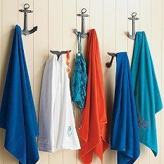 Anchor Hook From Frontgate Luxury Pool Towel Pool Towels