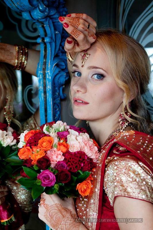 Vaishnava marriage in Russia (24 photos)