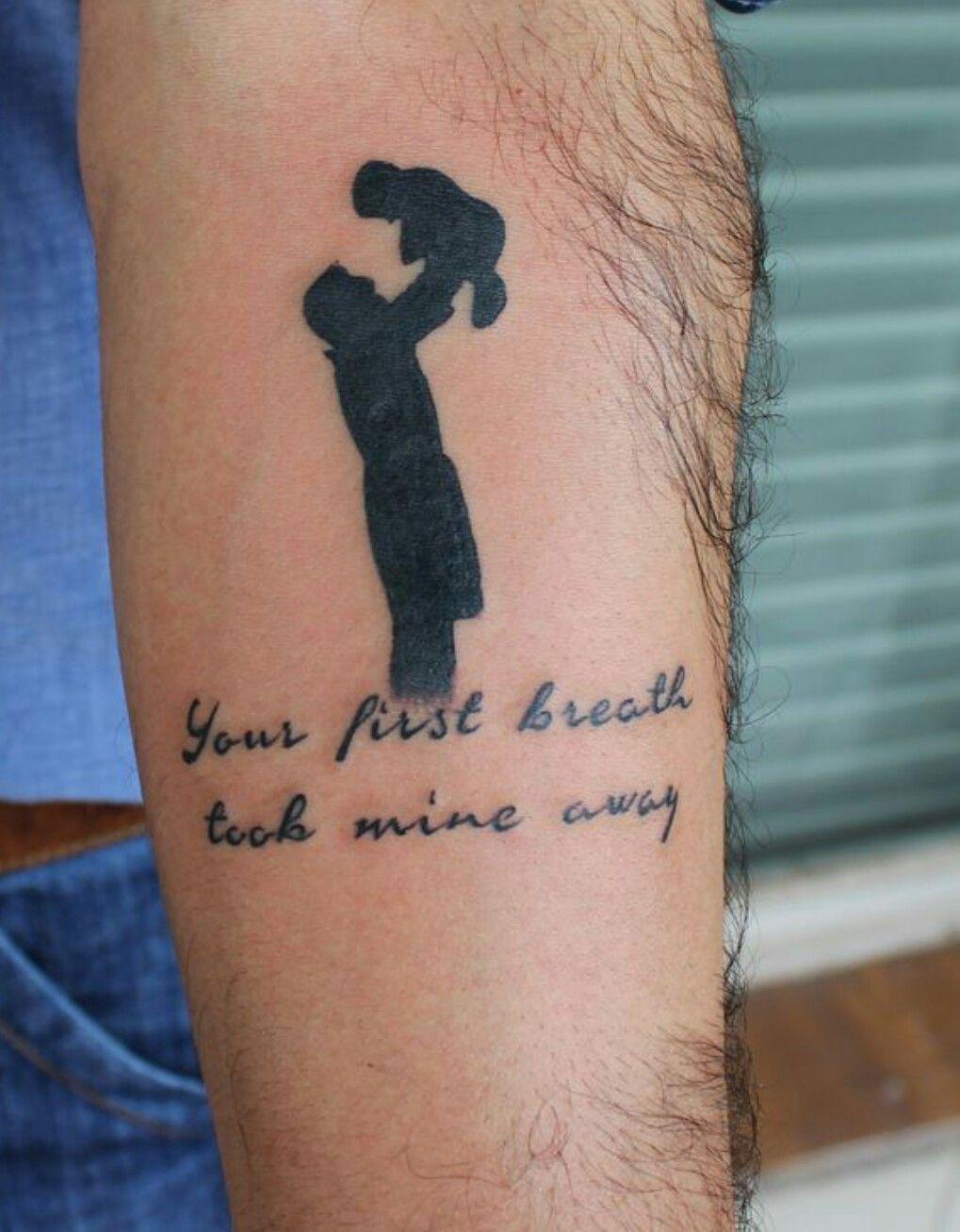Padre e figlio Tatuaggi Su Padre E Figlia, Tatuaggio Di Bambini, Tatuaggi  Padre,