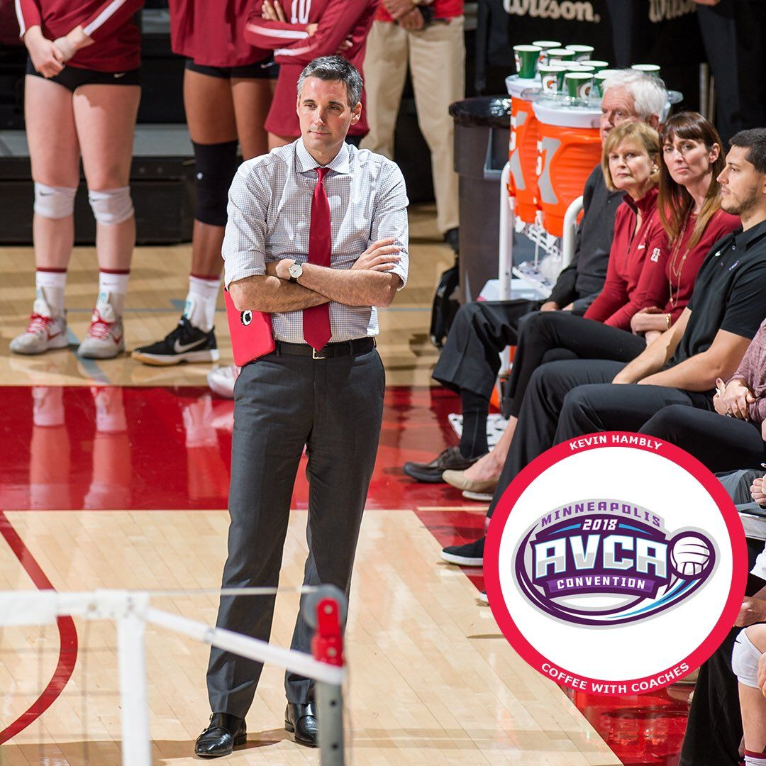 2018 Coffee With Coaches Event With Kevin Hambly Coaching Volleyball Coaching Sports
