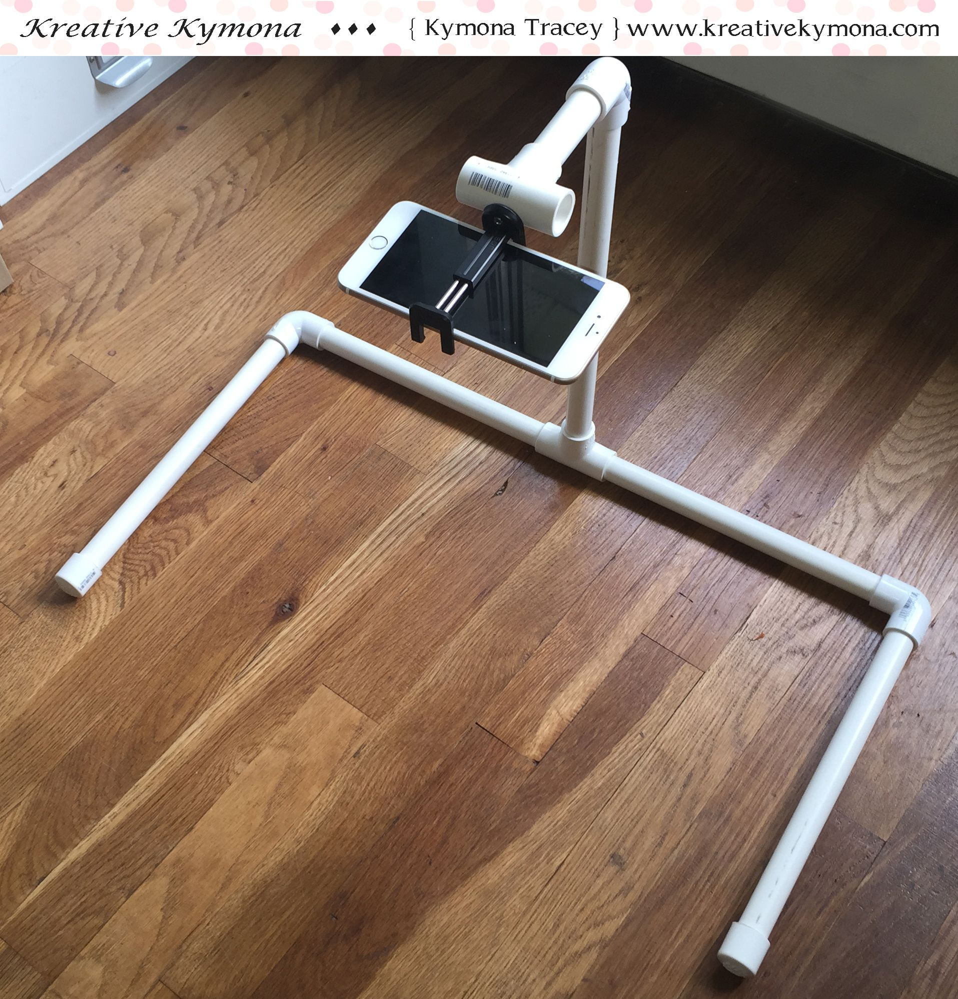 My Overhead Table Top Tripod Diy Tripod Diy Photography Pvc Projects