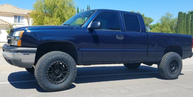 2004 chevy silverado 1500 2wd after 6 rough country lift kit liftkits4less com chevy gmc. Black Bedroom Furniture Sets. Home Design Ideas