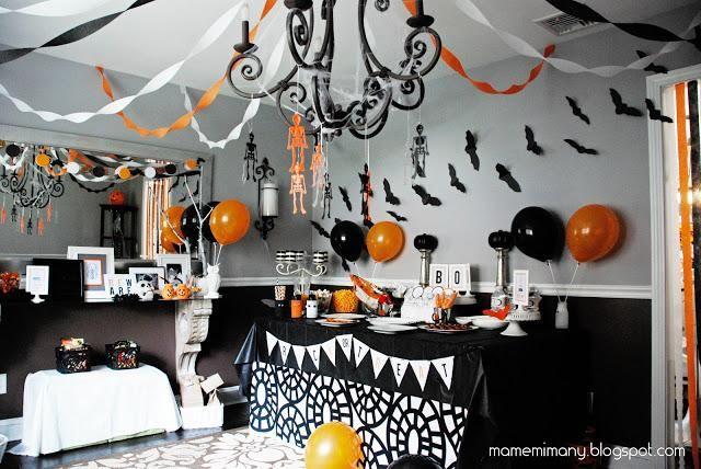 Halloween decorations  IDEAS  INSPIRATIONS a halloween party - halloween party decorations cheap