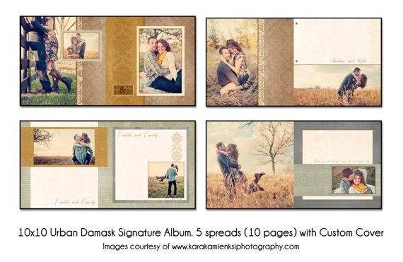 Psd Wedding Album Template  Albums    Weddings And Wedding
