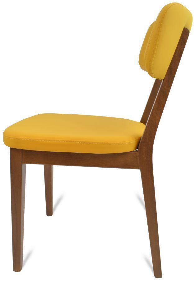 Gastro Restaurant Stuhl Tamara Gelb Decor Furniture Chair