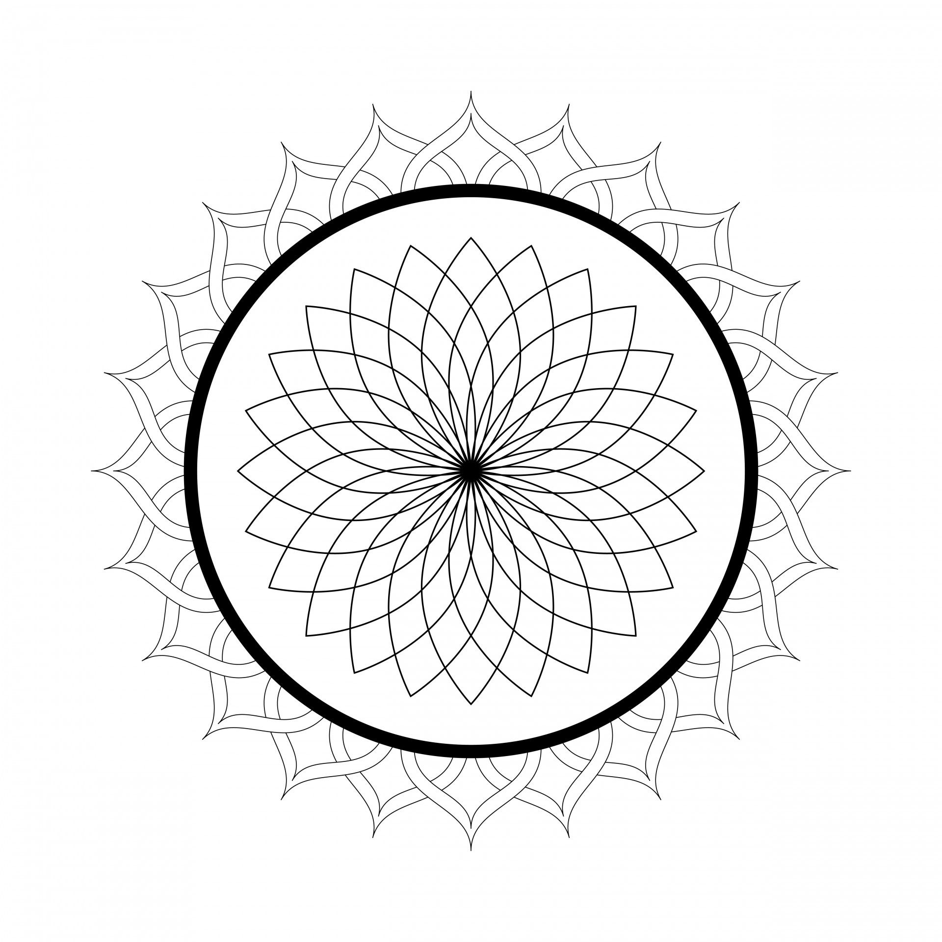 Free Printable Mandala Coloring Pages For Adults Mandala