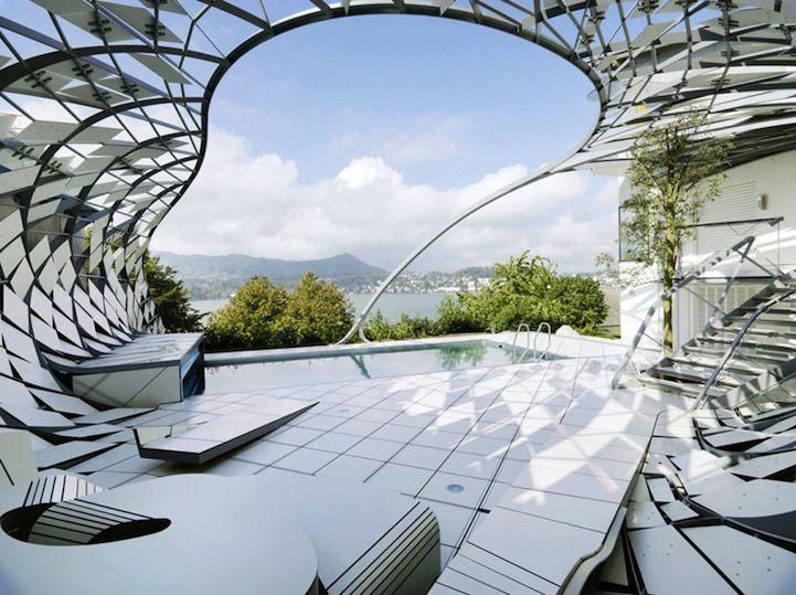 based in vienna the architect team herisalli has designed an unconventional geometric structure that redefines - Modern Architecture Vienna