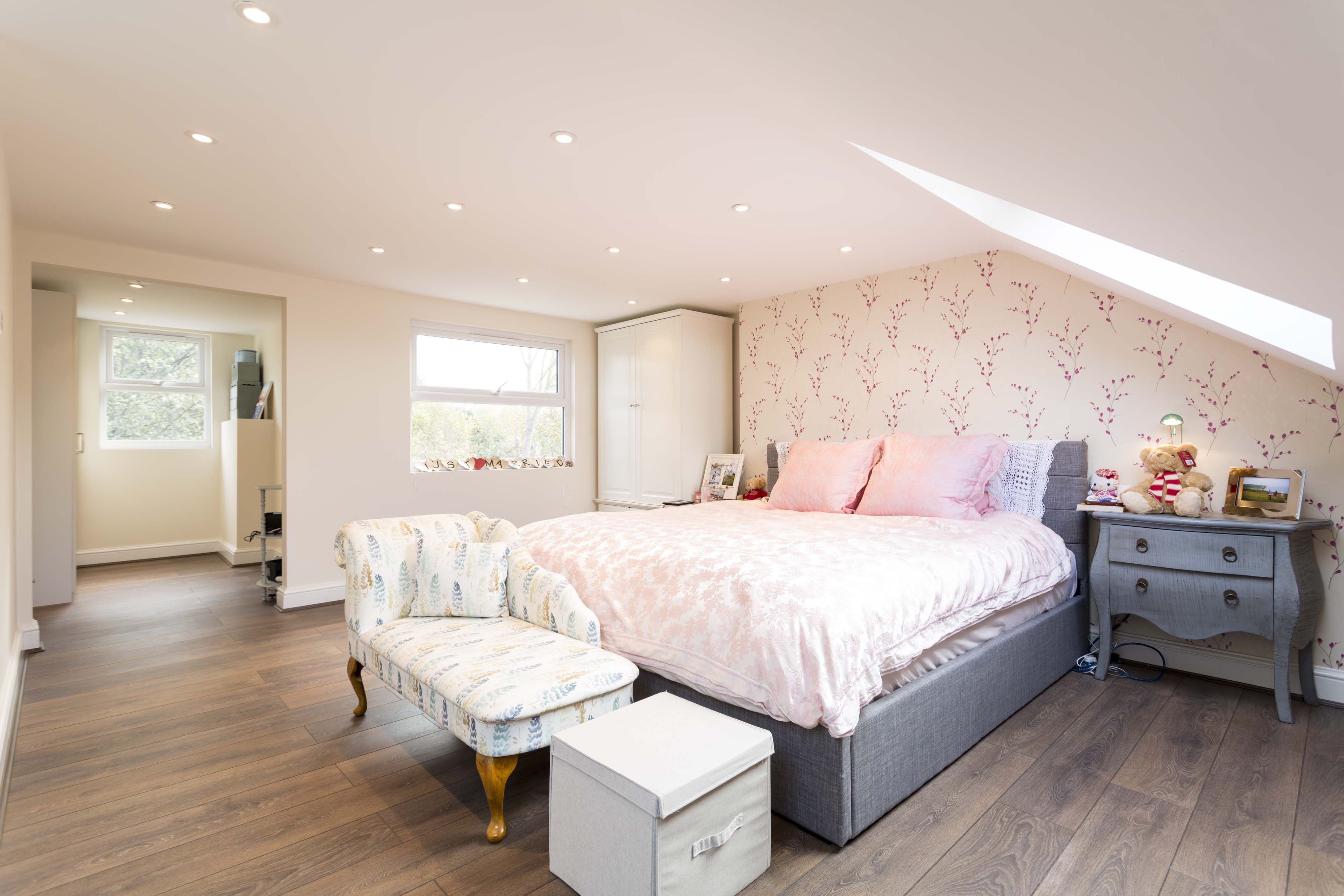 Large, Rear Dormer Loft Conversion Bedroom By Simply Loft -