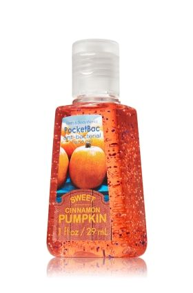 Sweet Cinnamon Pumpkin Pocketbac Sanitizing Hand Gel Anti