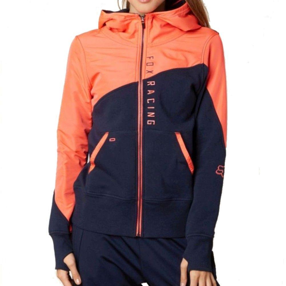 Fox Conserve Womens Zip Hoodie Fox Clothing Fox Racing Clothing Fashion