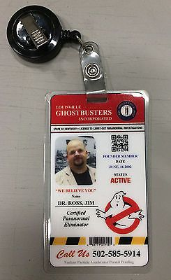 Ghostbusters-costume-prop-customized-name-badge
