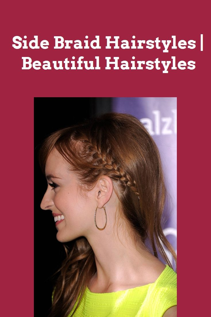 Side Braid Hairstyles | Beautiful Hairstyles #nail art #makeup #wedding hairstyles #fashion #wedding decor #eye makeup #hairstyles #braid hairstyles #outfits #sidebraidhairstyles