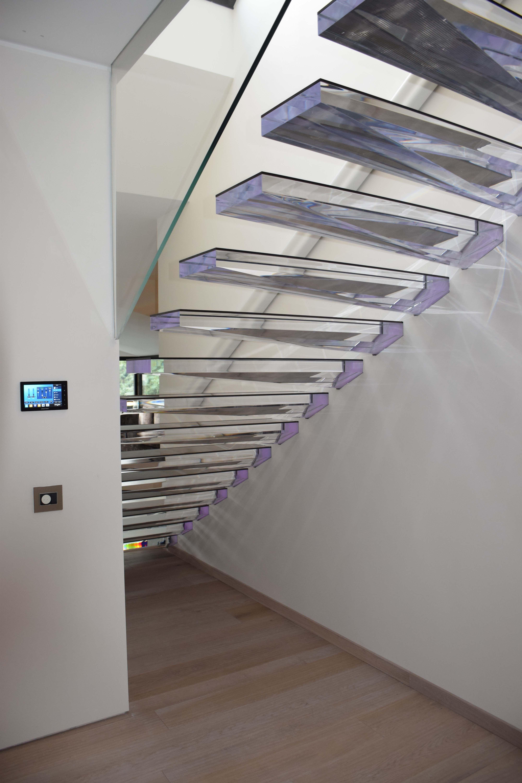 Fabelhaft Moderne Treppen Das Beste Von Modern Staircase, Treads In Acrylic Www.stairs-sillerreview/modern-stairs/ Www.sillertreppenreview/moderne-treppen/