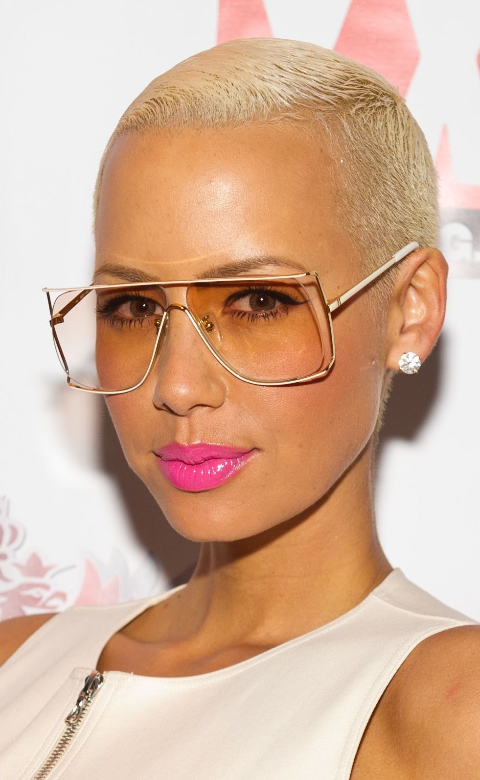 Pin by Noel H on Cancer Amber rose, Rose makeup, Glasses