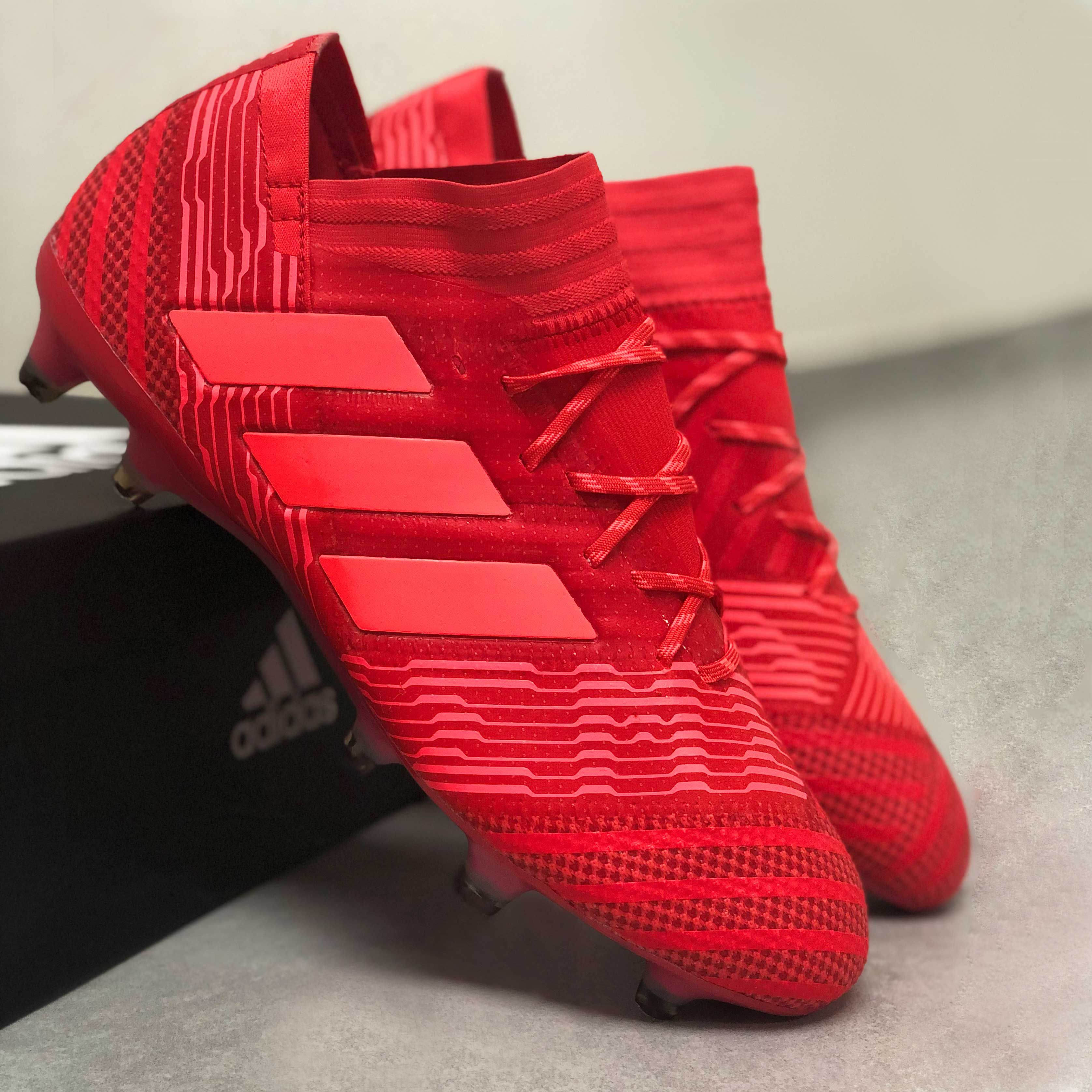 adidas Nemeziz 17.1 FG Herren Fußballschuhe CP8933 rot
