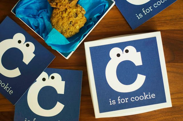 little monster: c is for gluten free chocolate chip oatmeal cookies