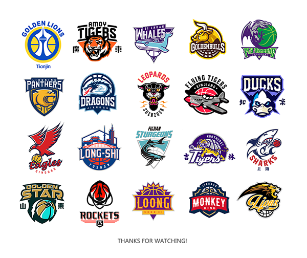Redesign Of Cba Team Logos On Wacom Gallery Logo Redesign Sports Logo Inspiration Sports Team Logos