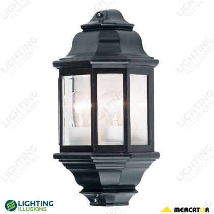 Beige Nepean 2 Light Half Wall Exterior Pillar Lights Lighting Illusions Online