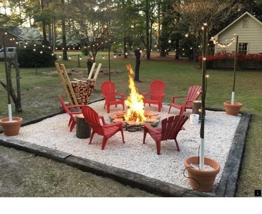 20+ amazing backyard fire pit design ideas 3 #firepitideas
