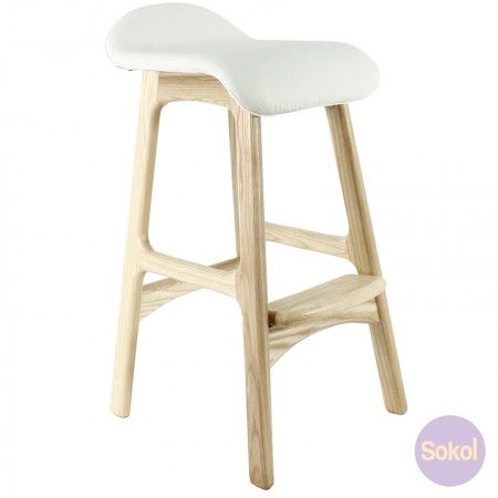 Replica Erik Buch Counter Stool Natural