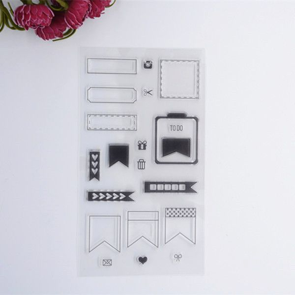 2016 new Scrapbook DIY Photo Album Account Transparent Silicone Rubber Clear Stamps -in Stamps from Office & School Supplies on Aliexpress.com | Alibaba Group